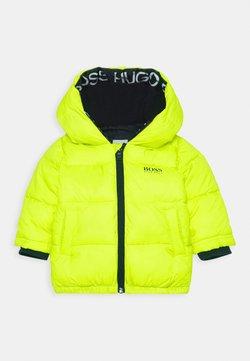 BOSS Kidswear - PUFFER JACKET BABY  - Winterjas - green lemon
