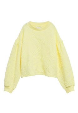 Mango - MALIBUT - Felpa - jaune pastel
