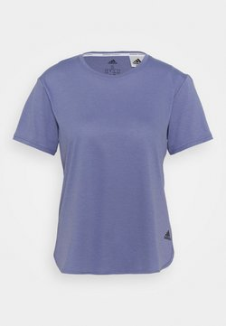 adidas Performance - GO TO TEE  - Camiseta básica - orbit violet/black