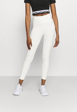 Puma - STUDIO YOGINI LUXE HIGH WAIST 7/8 - Tights - eggnog heather