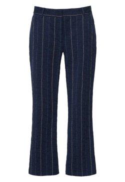 Hexeline - Spodnie materiałowe - dark blue