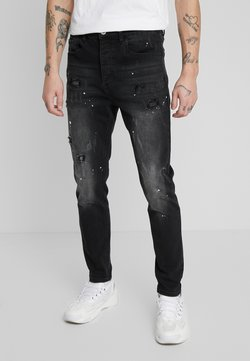 Kings Will Dream - KINGS WILL DREAM ROCKET CARROT FIT JEANS  - Jeans slim fit - black