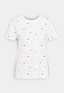 TOM TAILOR - T-Shirt print - offwhite