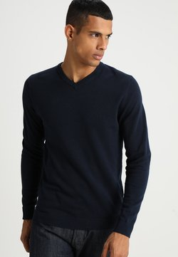Jack & Jones - JJEBASIC  - Strickpullover - navy blazer