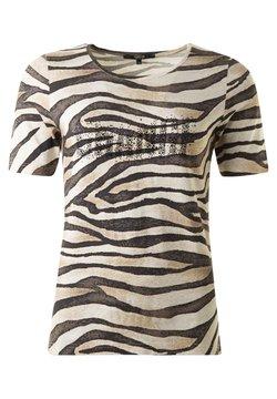 Clarina - ZEBRA - T-Shirt print - scwarzweisssand