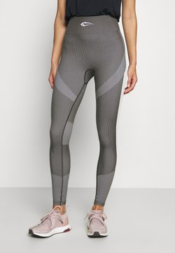 Smilodox - SEAMLESS LEGGINGS ULTIMATE - Tights - anthrazit
