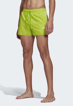 adidas Performance - 3-STRIPES CLX SWIM SHORTS - Swimming shorts - green