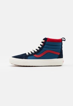Vans - SK8 MTE UNISEX - Korkeavartiset tennarit - navy/red