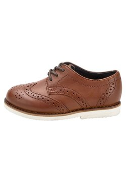 Next - TAN LEATHER BROGUES (YOUNGER) - Business-Schnürer - brown