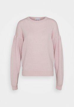 Davida Cashmere - VOLUME SLEEVE SWEATER - Stickad tröja - light pink