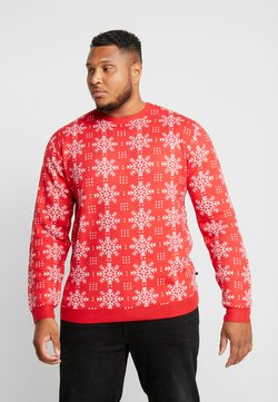 Jack´s Sportswear - XMAS ICEFLOWER - Jumper - red