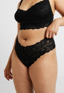 Cosabella - NEVER SAY NEVER PLUS CUTIE THONG - String - black