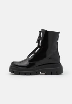 MSGM - STIVALETTO DONNA WOMAN`S BOOT - Plateaustiefelette - black