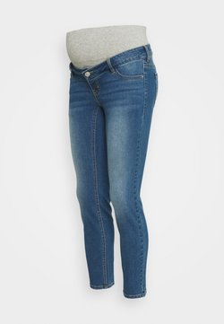 Pieces Maternity - PCMLILA SLIM - Jeans Slim Fit - medium blue denim