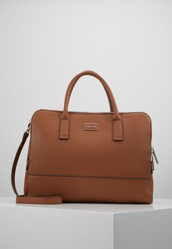 comma - PURE ELEGANCE HANDBAG - Aktentasche - cognac