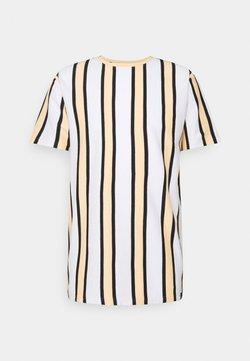 Denim Project - RAMIREZ TEE - T-Shirt print - white/peach fuzz/ black
