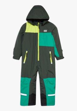 LEGO Wear - LWJIPE SNOWSUIT - Schneeanzug - dark green