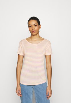 mbyM - LUCIANNA - T-Shirt print - butter/peach/pink