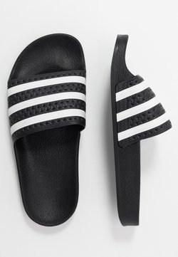 adidas Originals - ADILETTE - Sandaler - core black/footwear white