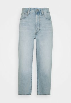 Madewell - COWGIRL WIDE LEG CROP - Jeans Relaxed Fit - fitzgerald wash