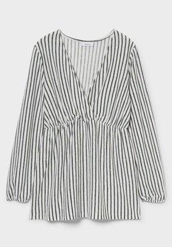 C&A - Bluse - black / white
