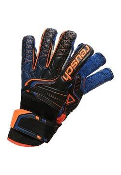 Reusch - Torwarthandschuh - black / shocking orange / deep blue