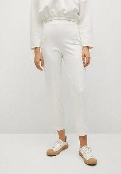 Mango - NOA - Spodnie materiałowe - weiß