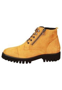 Sioux - Schnürstiefelette - gelb