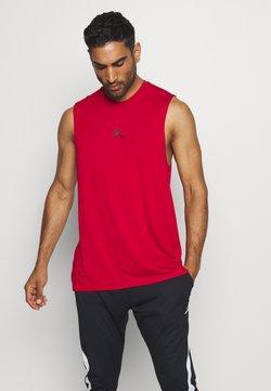 Jordan - AIR TOP - Tekninen urheilupaita - gym red
