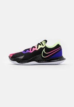 Nike Performance - AIR ZOOM VAPOR CAGE 4 - Zapatillas de tenis para todas las superficies - black/liquid lime/fierce purple