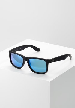 Ray-Ban - JUSTIN - Aurinkolasit - black/green/mirror blue