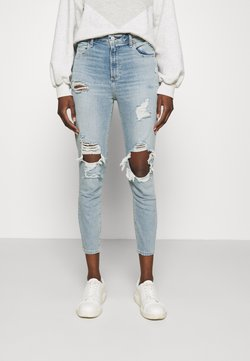 Abercrombie & Fitch - LIGHT LOVE - Jeans Skinny Fit - light blue