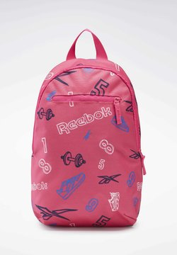 Reebok Classic - ALLOVER PRINT BACKPACK SMALL - Reppu - pink