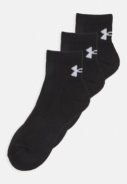 Under Armour - CORE 3 PACK - Sportsocken - black