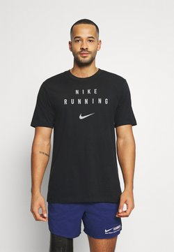 Nike Performance - RUN DIVISION - T-shirt imprimé - black