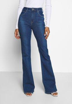 Lee - SUPER HIGH FLARE OPTIX - Flared Jeans - jackson worn