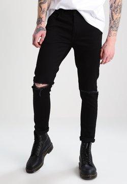 YOURTURN - Straight leg -farkut - black denim