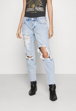 Hollister Co. - SHRED - Jeans Relaxed Fit - light indigo