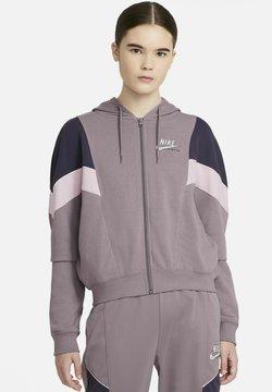 Nike Sportswear - HERITAGE - Sweatjacke - purple smoke/dark raisin/pink foam