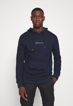 CLOSURE London - UTILITY HOODY - Kapuzenpullover - navy