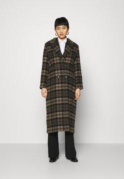 IVY & OAK - ALOA ALTEA - Classic coat - cedar wood/black