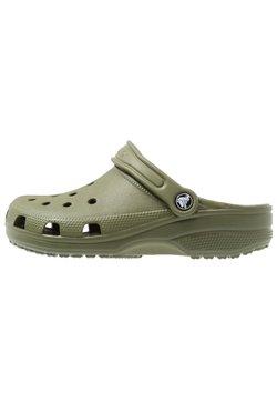 Crocs - CLASSIC UNISEX - Badslippers - army green