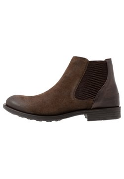 camel active - CHECK - Stiefelette - taupe/mocca