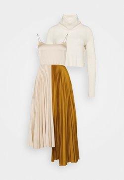 AllSaints - JESSIE DRESS 2-IN-1 - Strickpullover - alabaster white