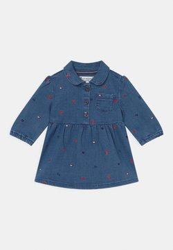 Tommy Hilfiger - BABY DRESS - Vestido vaquero - blue denim