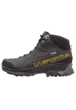 La Sportiva - STREAM GTX - Hikingschuh - black/yellow