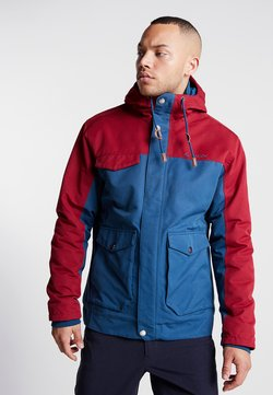 Vaude - MEN'S MANUKAU JACKET - Blouson - blue/red