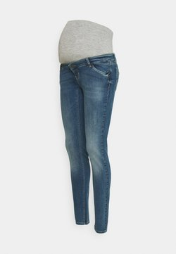 MAMALICIOUS - MLSAVANNA DESTROY  - Jeans Slim Fit - medium blue denim