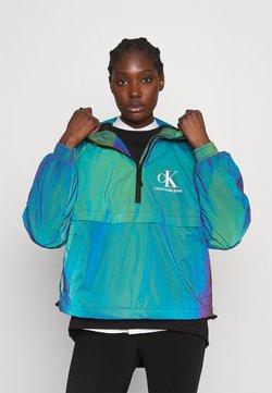Calvin Klein Jeans - REFLECTIVE POPOVER - Windbreaker - multi coloured