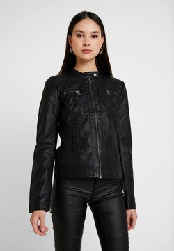ONLY - BANDIT BIKER - Veste en similicuir - black